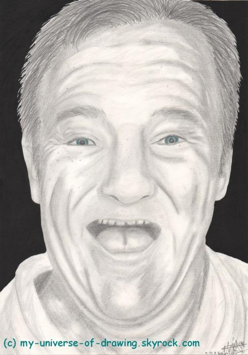 Robin Williams por AngelRainbow